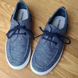 Size 3 boy Old Navy shoes